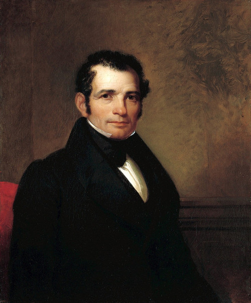Art Prints of Portrait of Luman Reed by Asher Brown Durand