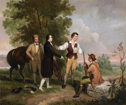 Art Prints of The Capture of Major Andre by Asher Brown Durand