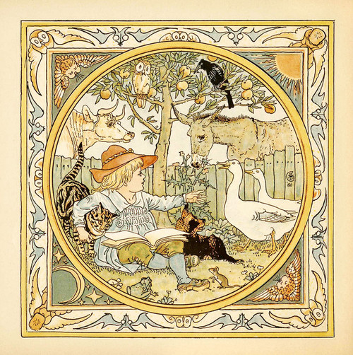 Art Prints of Cover Illustration, Aesop's Fables