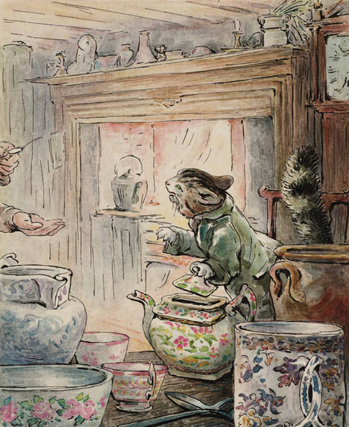 Art Prints of Where is My Twist? by Beatrix Potter