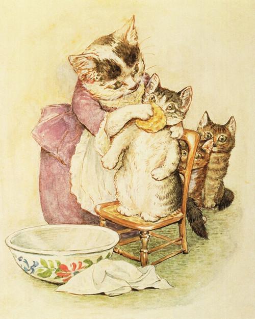 Art Prints of The Tale of Tom Kitten by Beatrix Potter