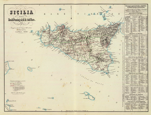Art Prints of Sicilia, 1853 (4714013) by Benedetto Marzolla