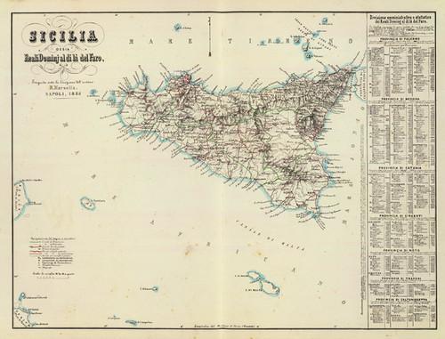 Art Prints of Sicilia, 1853 (4714013) by Benedetto Marzolla