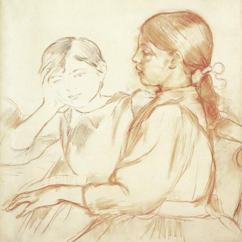 Art Prints of At the Piano by Berthe Morisot