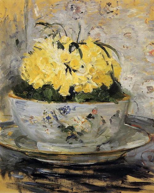 Art Prints of Daffodils by Berthe Morisot