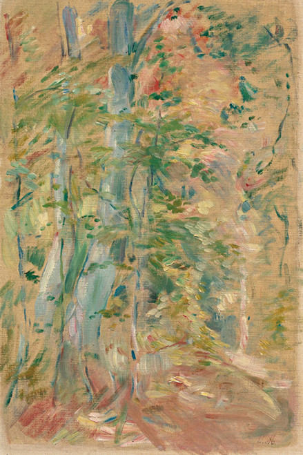Art Prints of Forest Study by Berthe Morisot