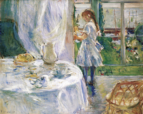 Art Prints of Interior of a Cottage by Berthe Morisot