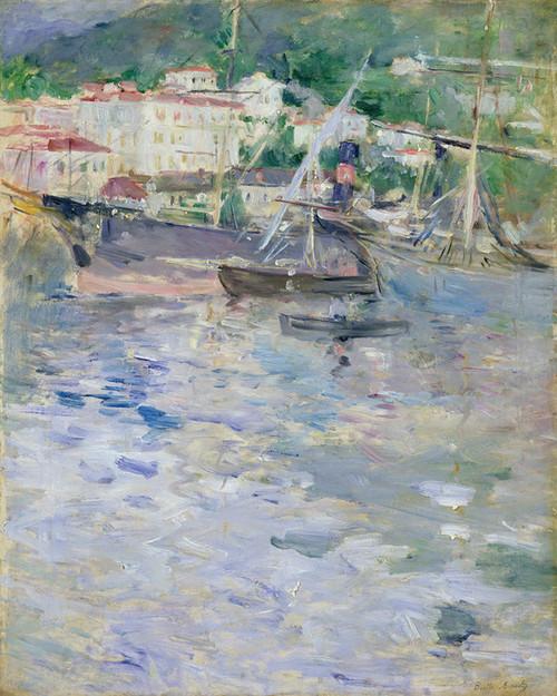 Art Prints of Le Port de Nice by Berthe Morisot