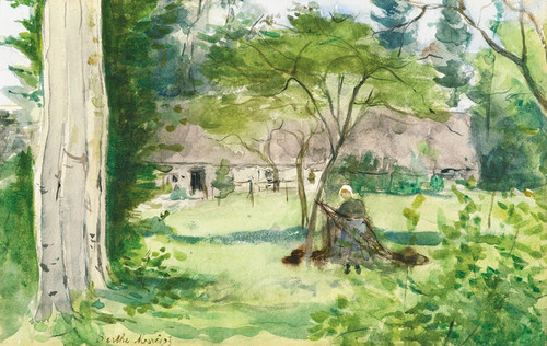 Art Prints of Landscape by Berthe Morisot
