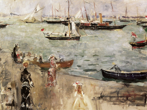 Art Prints of Marine in England by Berthe Morisot