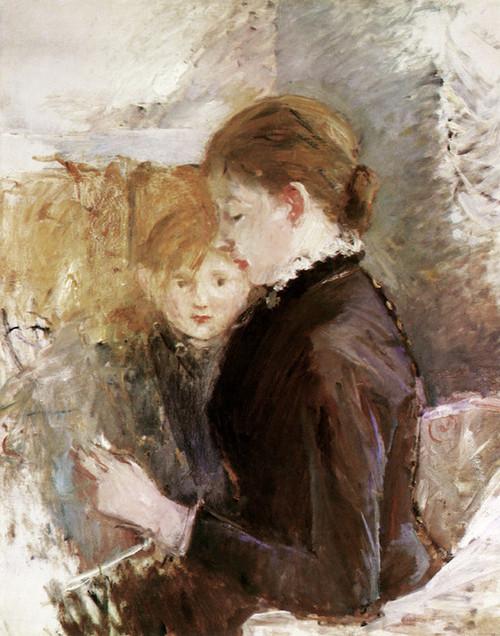 Art Prints of Mrs. Reynolds by Berthe Morisot