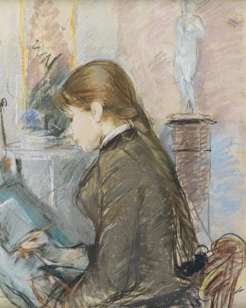 Art Prints of Paule Gobillard Drawing by Berthe Morisot