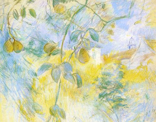Art Prints of Pears by Berthe Morisot