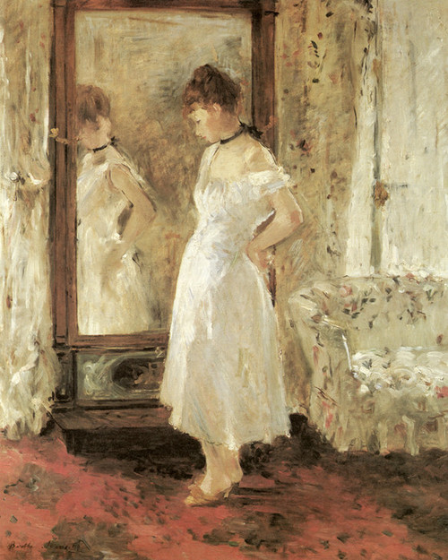 Art Prints of Psyche by Berthe Morisot
