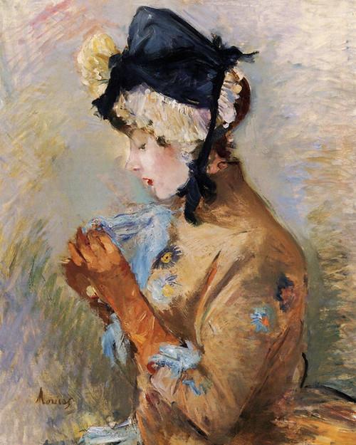 Art Prints of The Parisian by Berthe Morisot