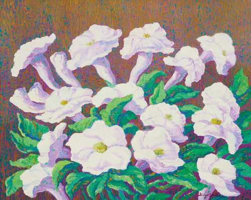 Art Prints of Angel's Trumpets by Birger Sandzen