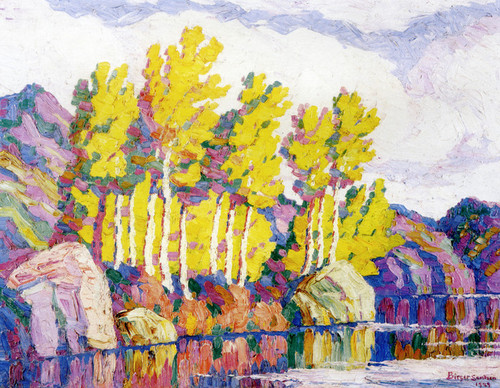 Art Prints of Aspens, Rocky Mountain National Park, Colorado by Birger Sandzen