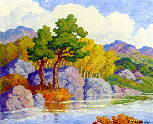 Art Prints of Autumn Symphony by Birger Sandzen
