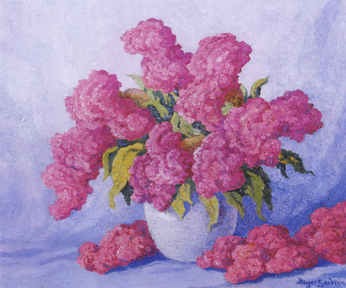 Art Prints of Still Life with Summer Flowers by Birger Sandzen
