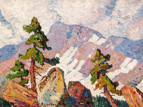 Art Prints of Rocky Mountain Landscape by Birger Sandzen