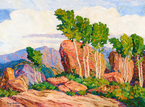 Art Prints of Summer in the Mountains by Birger Sandzen