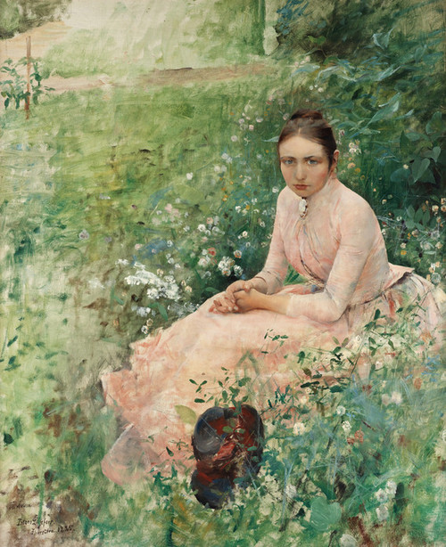 Art Prints of Anna by Bruno Liljefors
