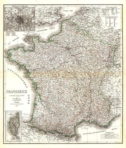 Art Prints of Weimar Germany Frankreich, 1855 (2077030) by C. F. Weiland