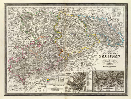 Art Prints of Sachsen, 1856 (2077022) by C.F. Weiland