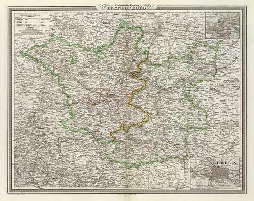Art Prints of Germany, Bradenburg, 1856 (2077014) by C.F. Weiland
