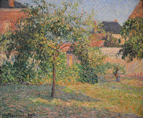 Art Prints of Apple Tree in the Meadow, Eragny by Camille Pissarro