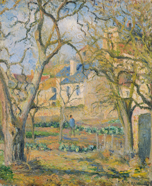 Art Prints of Vegetable Garden by Camille Pissarro
