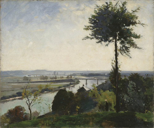 Art Prints of The Tree and the River III, Seine at Bois-le-Roi by Carl Frederik Hill