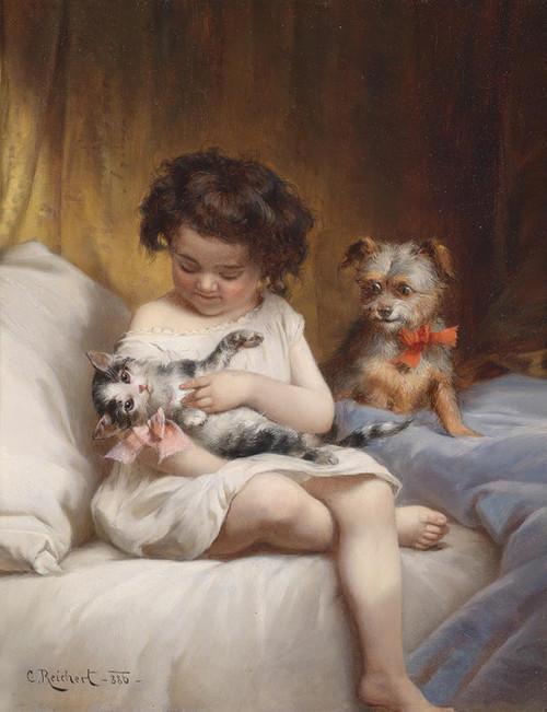 Art Prints of Favorite Pets by Carl Reichert