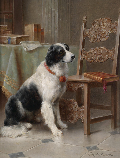 Art Prints of The Favorite of the Family by Carl Reichert