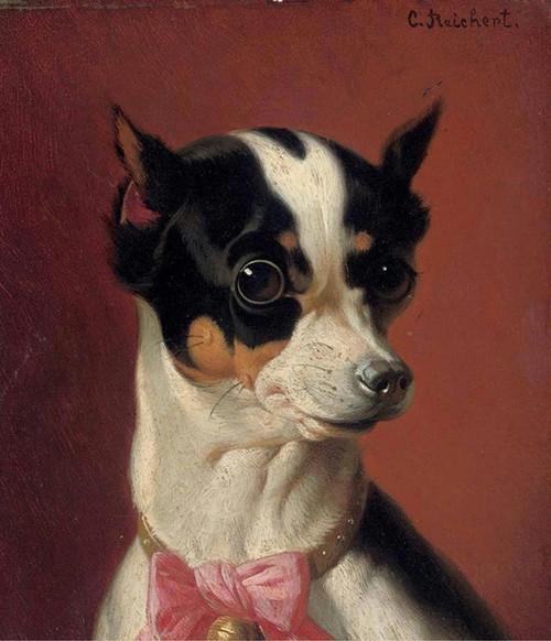 Art Prints of Toy Terrier by Carl Reichert
