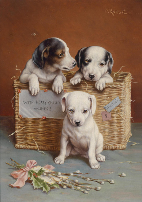 Art Prints of With Heaty Good Wishes by Carl Reichert