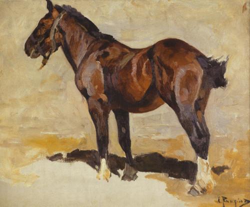 Art Prints of Draft Horse by Carl Rungius