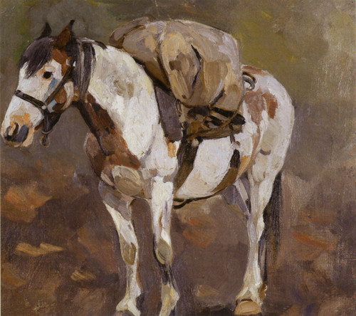 Art Prints of Pack Horse by Carl Rungius