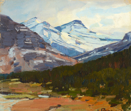 Art Prints of High Country Snow by Carl Rungius