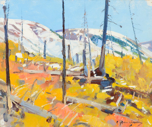 Art Prints of High Country by Carl Rungius