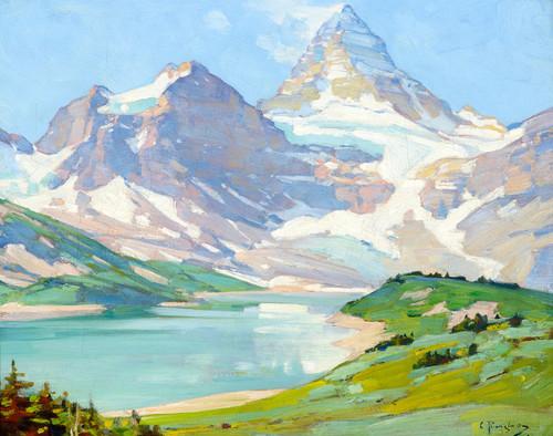 Art Prints of Mt. Assiniboine by Carl Rungius