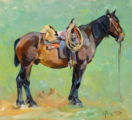 Art Prints of Packhorse by Carl Rungius