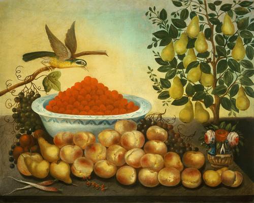 Art Prints of Still Life Bird and Dwarf Tree by Charles Bond