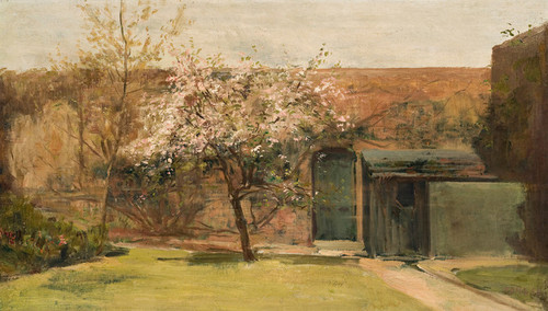 Art Prints of Blossoms Chantemesle, France by Charles Conder