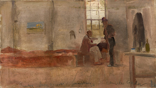 Art Prints of Impressionist's Camp by Charles Conder