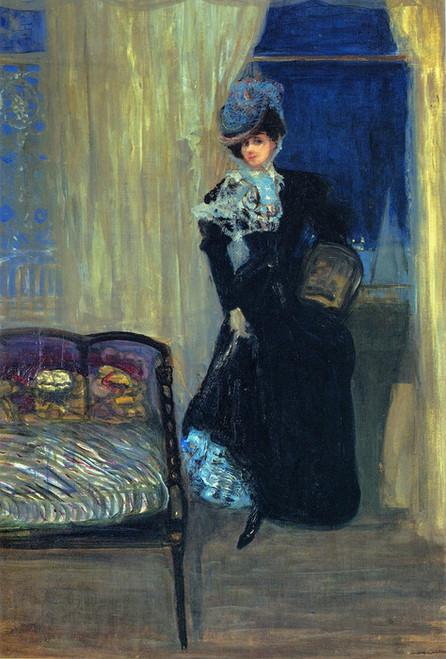 Art Prints of Madame Errazuriz by Charles Conder