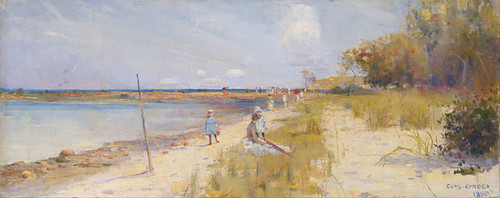 Art Prints of Rickett's Point by Charles Conder