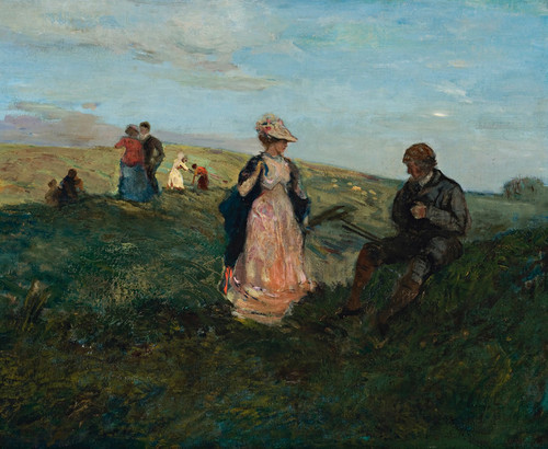 Art Prints of Landscape with Figures by Charles Conder