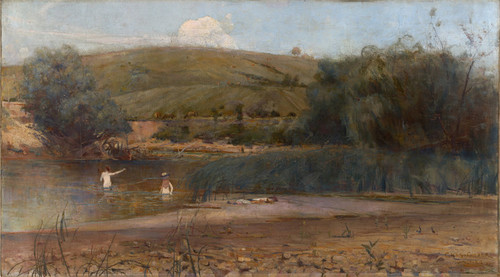 Art Prints of The Yarra, Heidelberg by Charles Conder