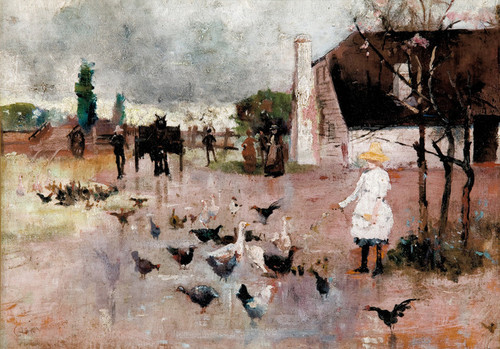 Art Prints of Tea Time by Charles Conder